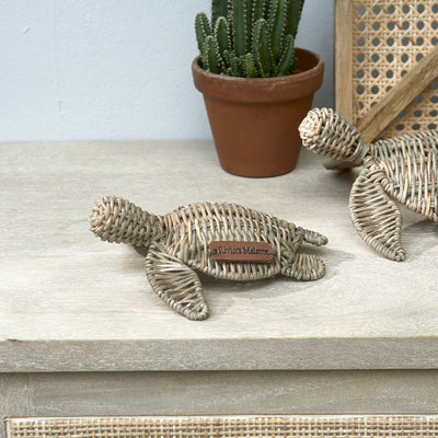 Rustic Rattan Happy Turtle - Südstrand
