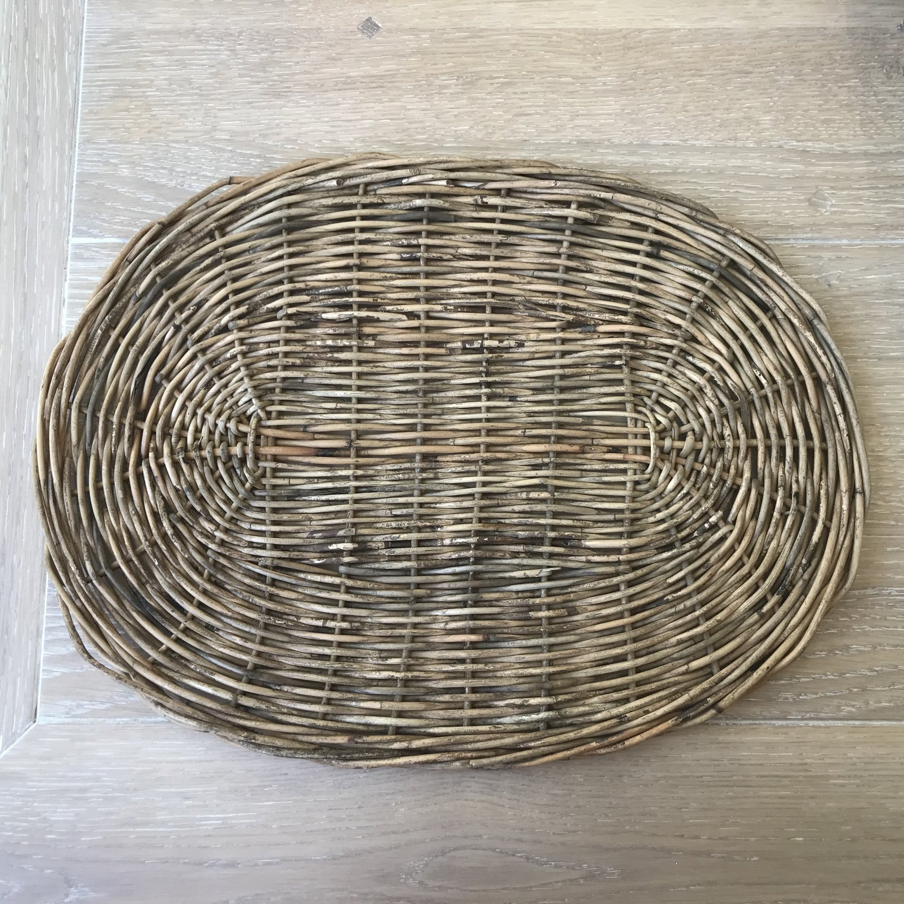 Riviera Maison Rustic Rattan Happy Home Placemat