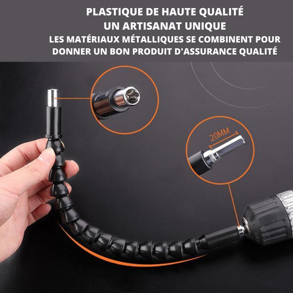 EMBOUTS D'EXTENSION FLEXIBLES-LYVIOS™