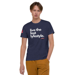 """live the fast lyfestyle"" Men's T-Shirt"