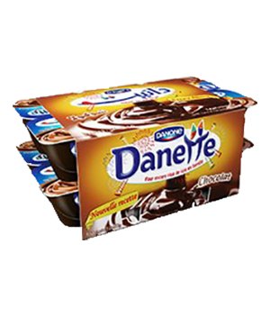 Pack Danette Chocolat 80G X12