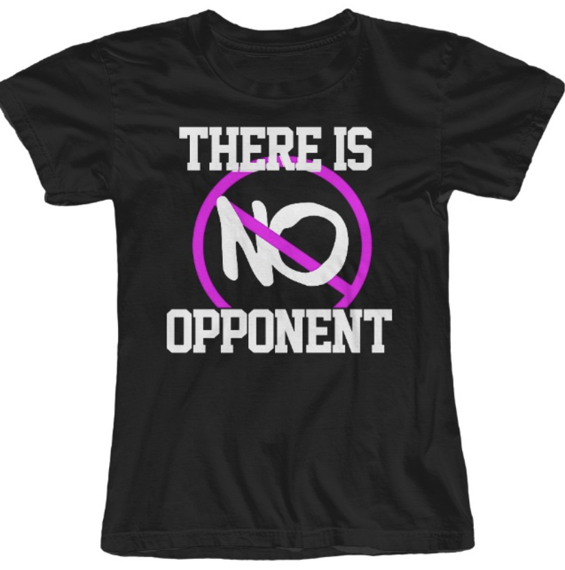 No opponent Tee