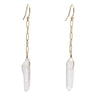 Chain Drop Earring - Gold