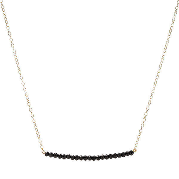 Line Necklace - Mystic Spinel