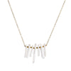 Quartz Necklace - Gold