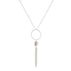 Tassel Necklace - Coin Pearl