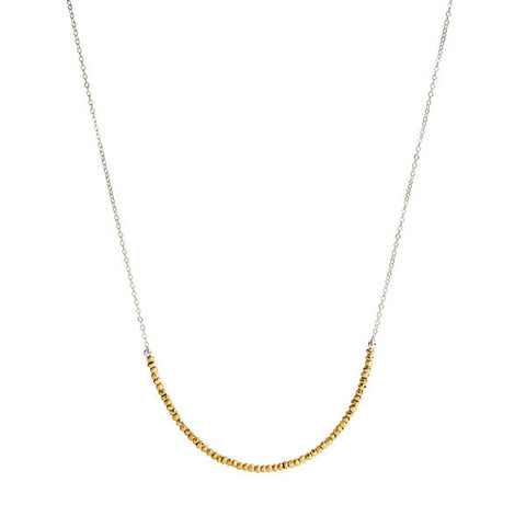Long Line Necklace - Gold
