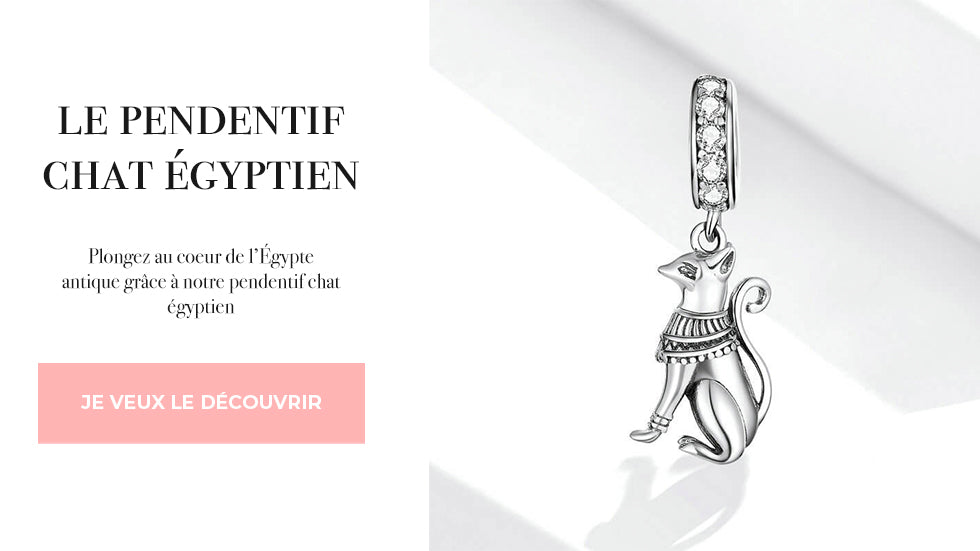pendentif egyptien chat