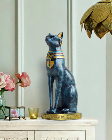 statuette egyptienne chat