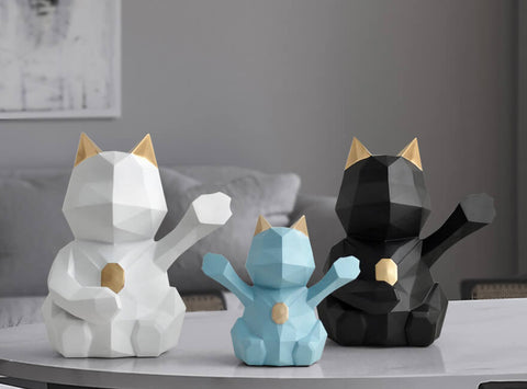 Déco chat origami