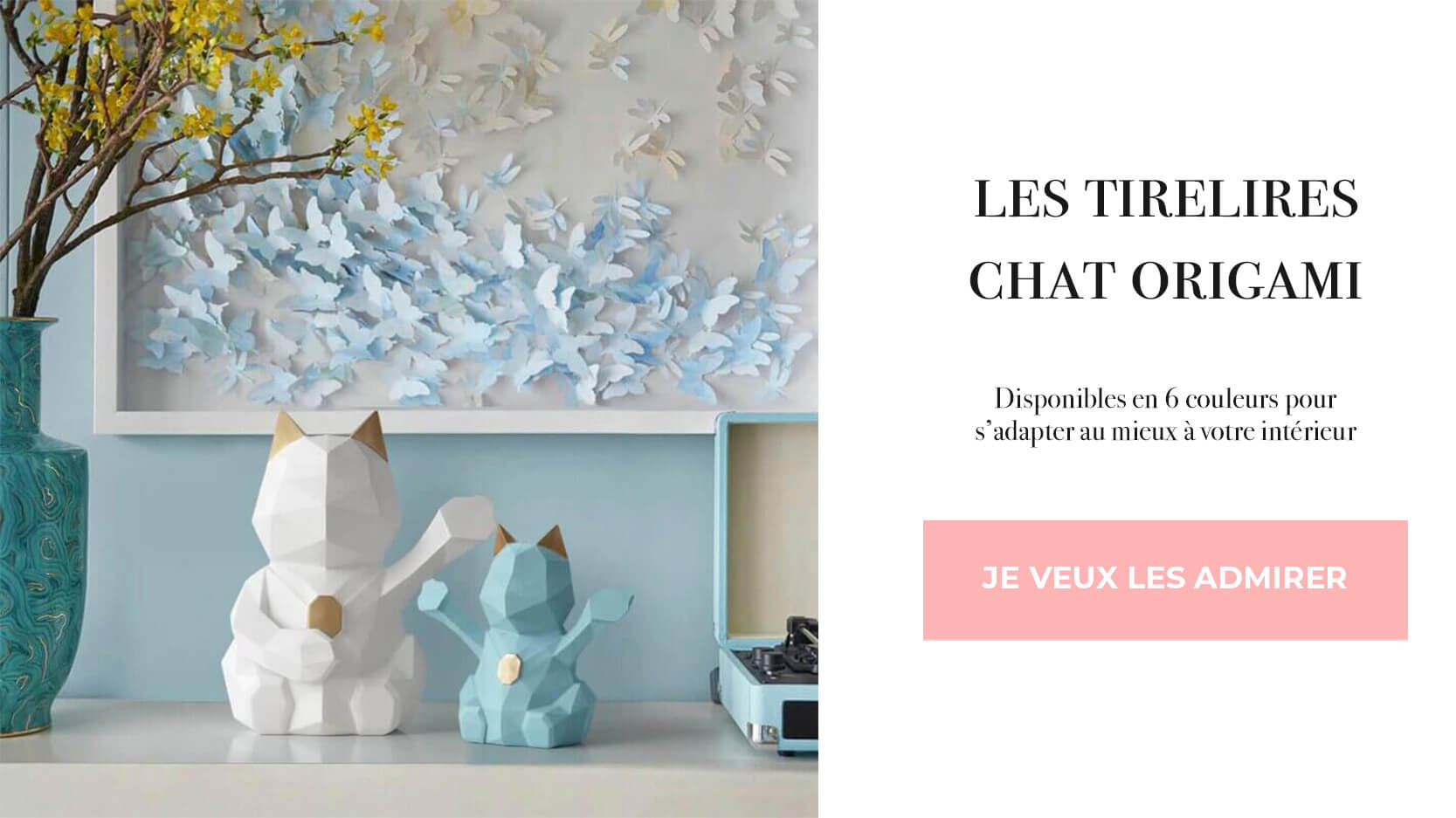tirelires origami chat