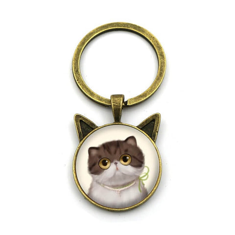 porte cle chat shorthair