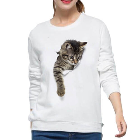 pull chaton griffe