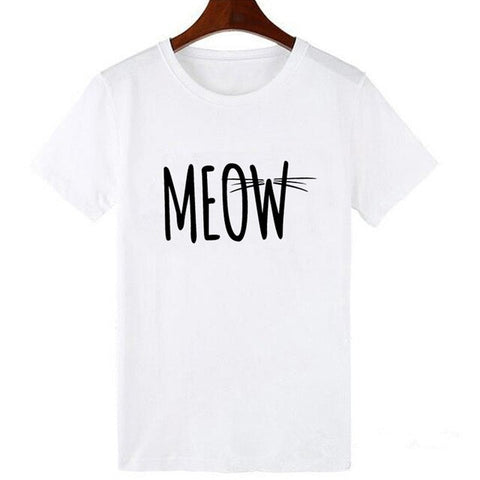 t shirt chat meow