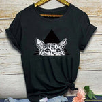 tee shirt chat noir