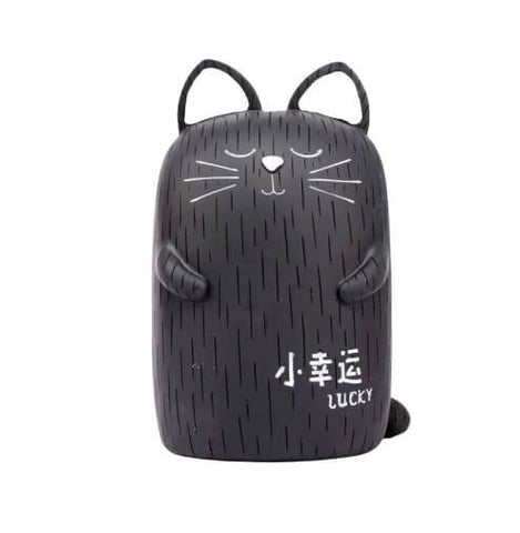 tirelire chat noir lucky