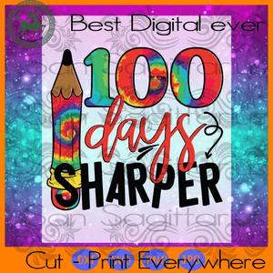 100 Days Of School Sharper Pencil, Happy 100th Day Of School, 100 Days Of School Svg, 100th Day Of School Svg, 100th Day Of School Shirt, 100th Day Of School Svg, 100 Days Of School, Back To