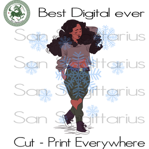 Living My Best Life, Black Girl Magic, Melanin Svg, Black Lives Matter, Afro Queen, Afro woman SVG Files For Cricut Silhouette Instant Download | San Sagittarius