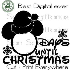 Days Until Christmas Merry Christmas, Christmas Holiday, Christmas Party, Funny Christmas, Christmas Tree,  Christmas Svg, Disney Christmas, Merry Christmas, Xmas Gift, Christmas Gift Ideas,
