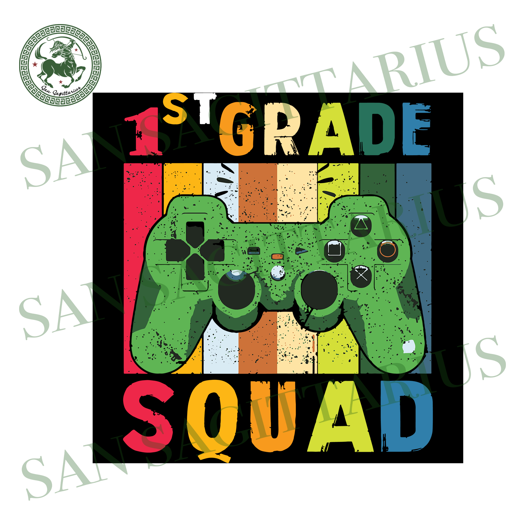 1st Grade Squad,Game Svg, Gamer Shirt, Gift For Gamer Lover, 1st Grade, 1st Grade Svg,First Day Of School, School Svg,Back To School Shirt, Back To School Svg, Kinder Svg, Kindergarten Shirt,