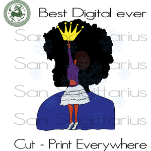Living My Best Life, Black Girl Magic, Melanin Svg, Black Lives Matter, Afro Queen, Afro Queen Best Gift For Bestie SVG Files For Cricut Silhouette Instant Download | San Sagittarius