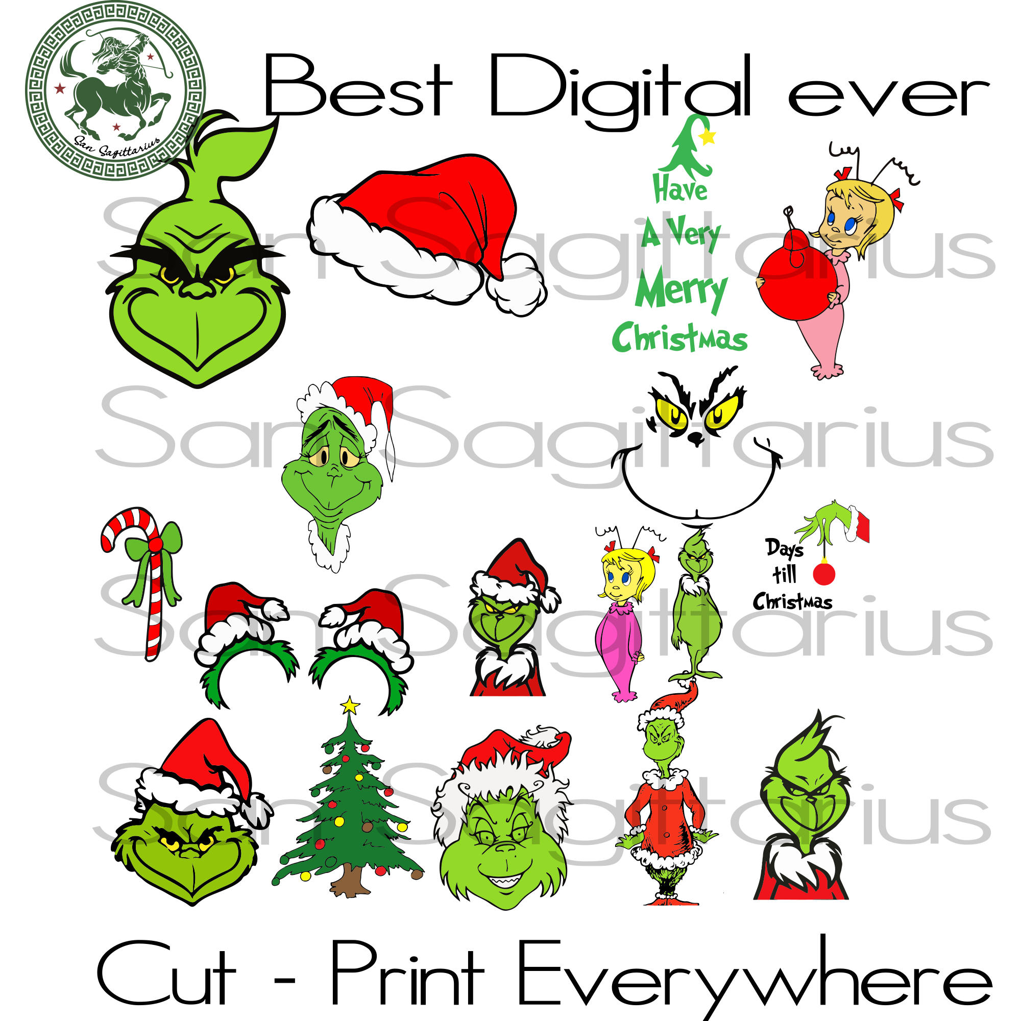 Grinch Bundle, The Grinch Svg, Christmas Svg, Christmas Grinch Svg, The Grinch, Grinch Svg, The Grinch Lover Svg, Grinch Cut File, Grinch Christmas, Grinch Lover Svg, Christmas Gift, Christma