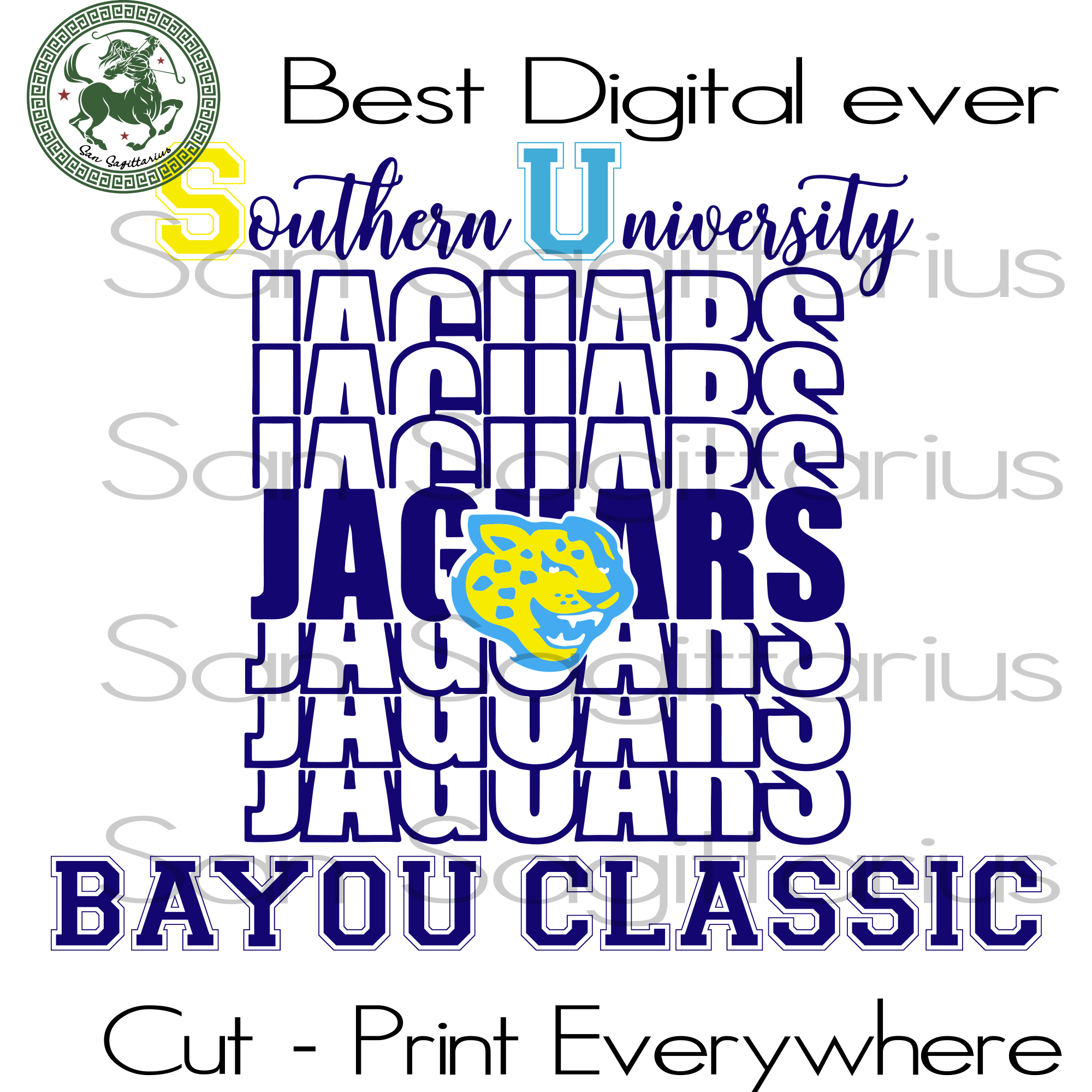 Southern University Jaguars, Sport SVG, Southern University, Southern University Svg, Jaguars Logo Svg, Nfl Svg, Football Svg File, Football Logo, Nfl Fabric, Nfl Football, Jaguars Shirt, Foo