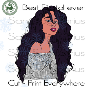 Afro Woman, Black Girl Magic, Melanin Svg, Black Lives Matter, Afro Queen Svg, Black Girl  SVG Files For Cricut Silhouette Instant Download | San Sagittarius