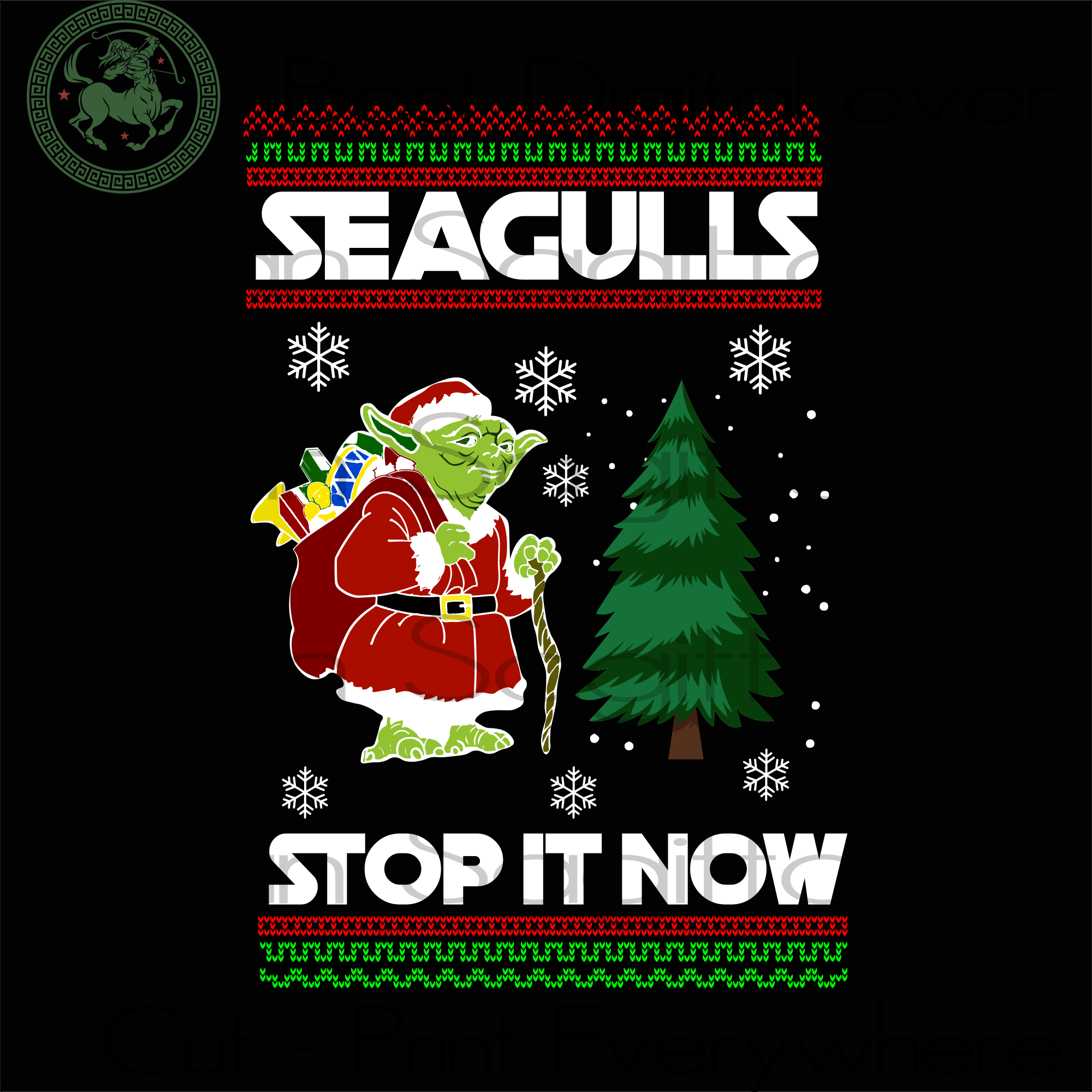 Seagulls Stop It Now, Christmas Svg, Seagulls Shirts, Seagulls Gifts, Christmas Gifts, Merry Christmas, Christmas Holiday, Christmas Party, Funny Christmas, Christmas Tree,  Disney Christmas,