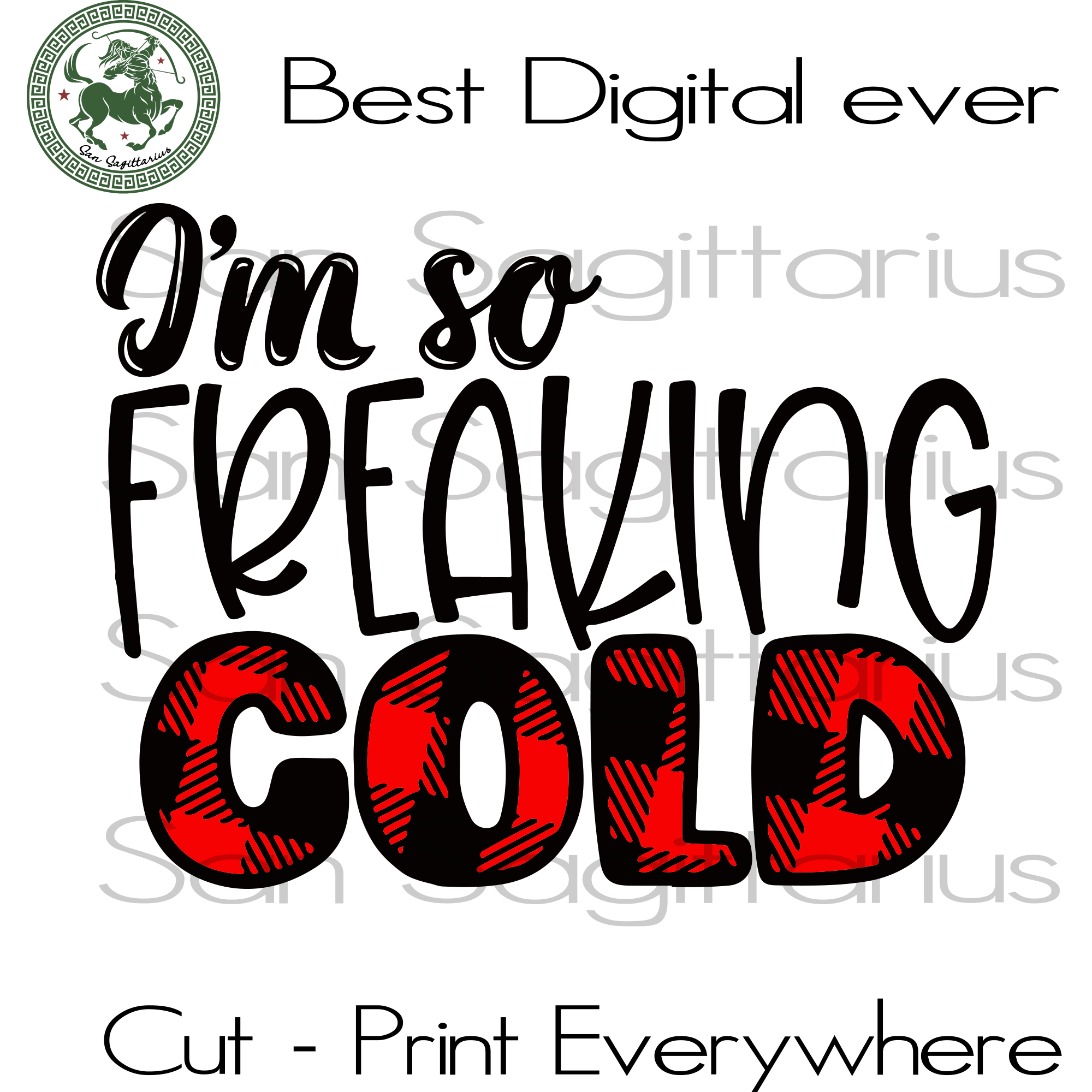 I'm so freaking cold svg, patterned svg, buffalo plaid svg, christmas svg, winter svg, freaking cold svg, christmas, christmas gifts, merry christmas, holiday christmas, christmas decor, frea