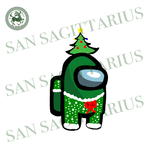 Among Us Christmas, Christmas Svg, Merry Christmas, Xmas Svg, Christmas Eve Svg, Fun Christmas Svg, Christmas Gift, Among Us Svg, Christmas Tree Svg, trending game, impostor svg, crewmate svg