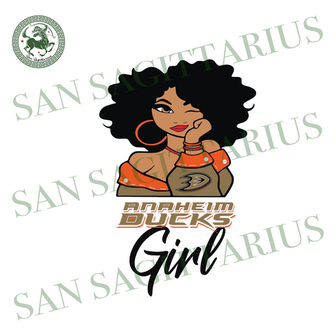 Anaheim Ducks Girl, Sport Svg, Black Girl Svg, NHL Sport Svg, Anaheim Ducks NHL Svg, Hockey Svg, Black Girl Svg, Anaheim Ducks Shirt, Anaheim Ducks Logo, Love Black Girl, Hockey Svg, Hockey S