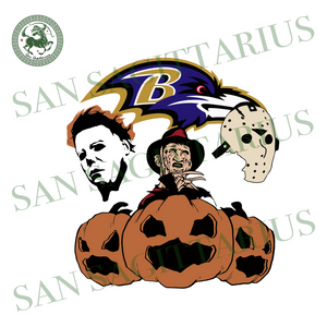 Baltimore Ravens Rugby NFL Halloween, Sport SVG, Halloween Svg, Happy Halloween, Halloween Gift, Halloween Shirt, Halloween Vector, Pumpkin Svg, Sport Svg, Cute Pumpkin, Baltimore Ravens Svg