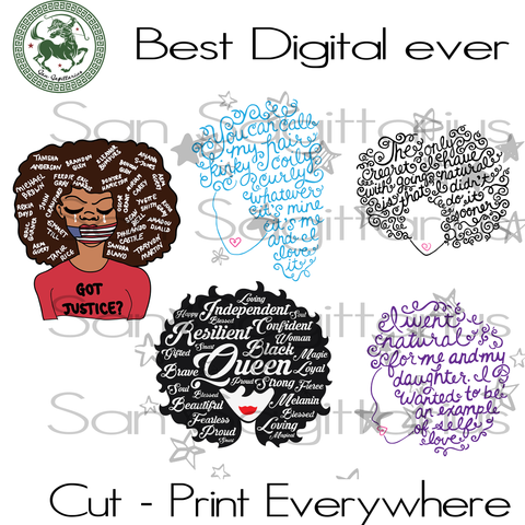 Living My Best Life, Black Girl Magic, Melanin Svg, Black Lives Matter, Afro Queen, Black Girl Magic Melanin Queen bundle Sublimation files, Svg Files For Cricut, HTV, Silhouette, Cameo Insta