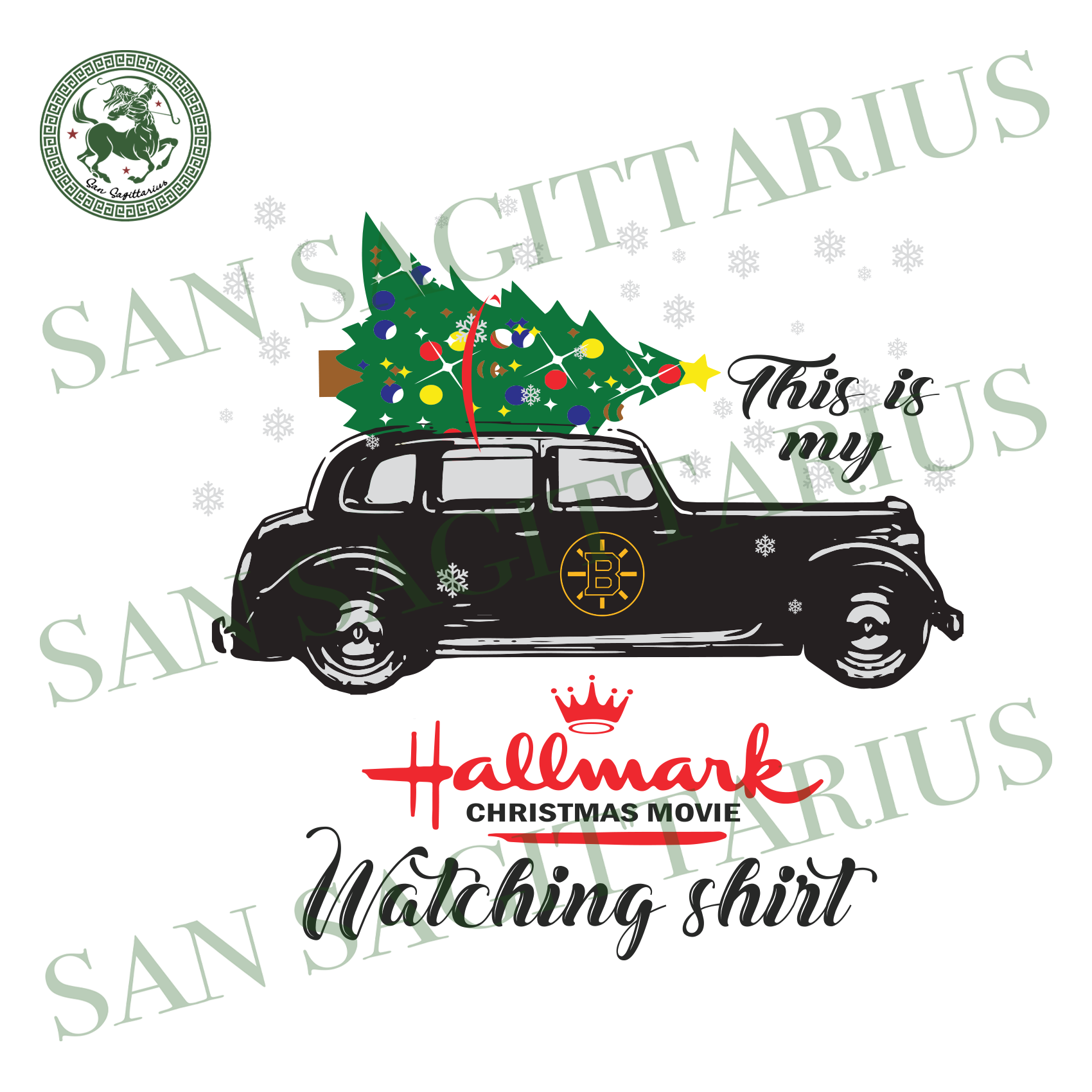 Boston Bruins This Is My Hallmark Christmas Movie Watching Shirt, Sport Svg, Christmas Svg, Boston Bruins Svg, NHL Sport Svg, Boston Bruins NHL Svg, Boston Bruins NHL Gift, Hockey Svg