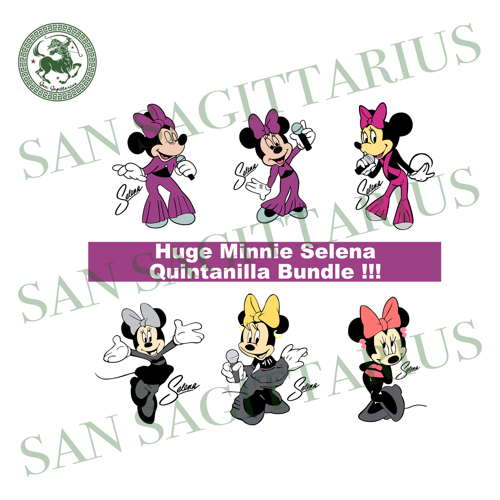 Bundles selena mickey svg,svg,minnie mouse svg,selena minnie svg,dancer minnie svg,disney vacation svg,svg cricut, silhouette svg files, cricut svg, silhouette svg, svg designs, vinyl svg