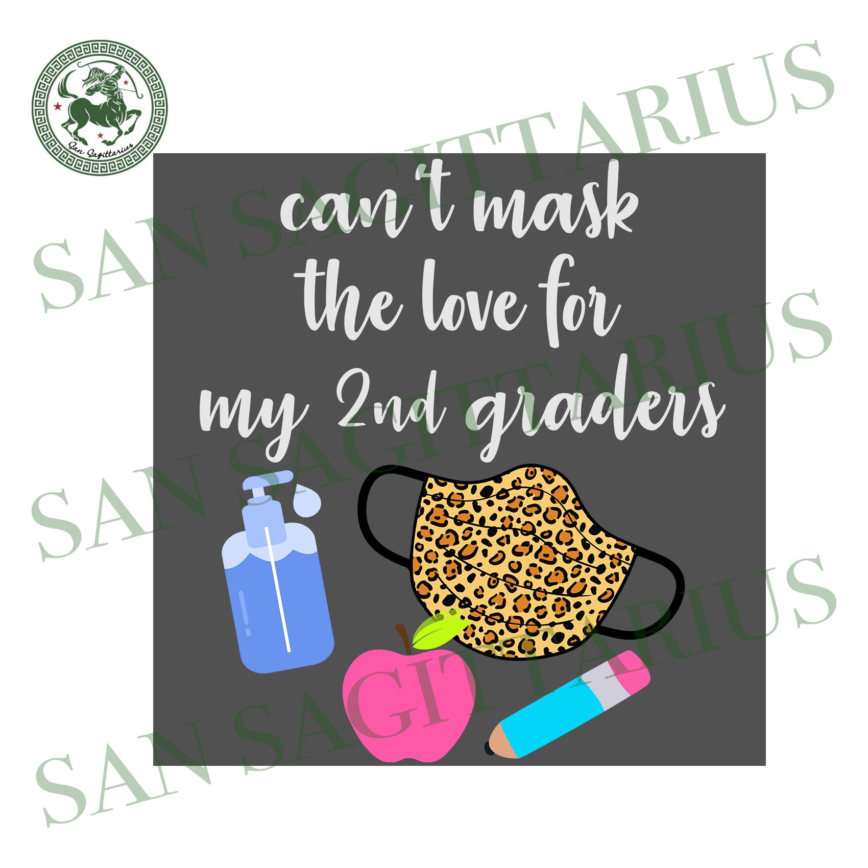 Cant mask the love for my 2nd graders svg,svg,teach svg,apple teacher svg,teacher online teach svg,2nd graders school svg,svg cricut, silhouette svg files, cricut svg, silhouette svg, svg des