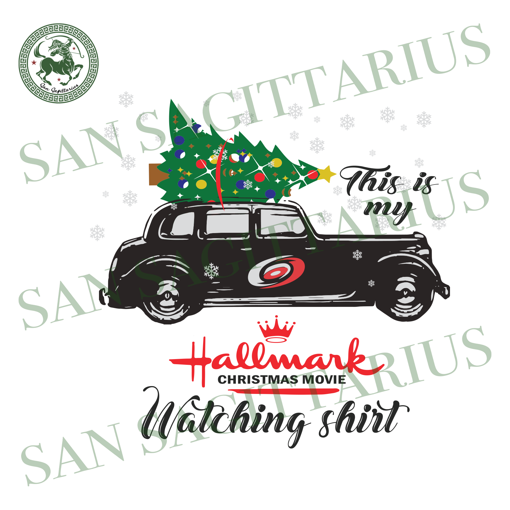 Carolina Hurricanes This Is My Hallmark Christmas Movie Watching Shirt, Sport Svg, Christmas Svg, Carolina Hurricanes Svg, NHL Sport Svg, Carolina Hurricanes NHL Svg, Carolina Hurricanes NHL
