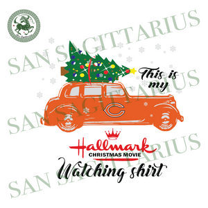 Chicago Bears This Is My Hallmark Christmas Movie Watching Shirt, Sport Svg, Christmas Svg, Chicago Bears Svg, NFL Sport Svg, Chicago Bears NFL Svg, Chicago Bears NFL Gift, Football Svg