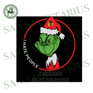 Chicago Blackhawks Logo , Sport Svg, Chicago Blackhawks Svg, Grinch Svg, NCAA Sport Svg, Chicago Blackhawks NCAA Svg, Chicago Blackhawks Gift, Grinch Lovers, Grinch Gift, Green Grinch, Footba