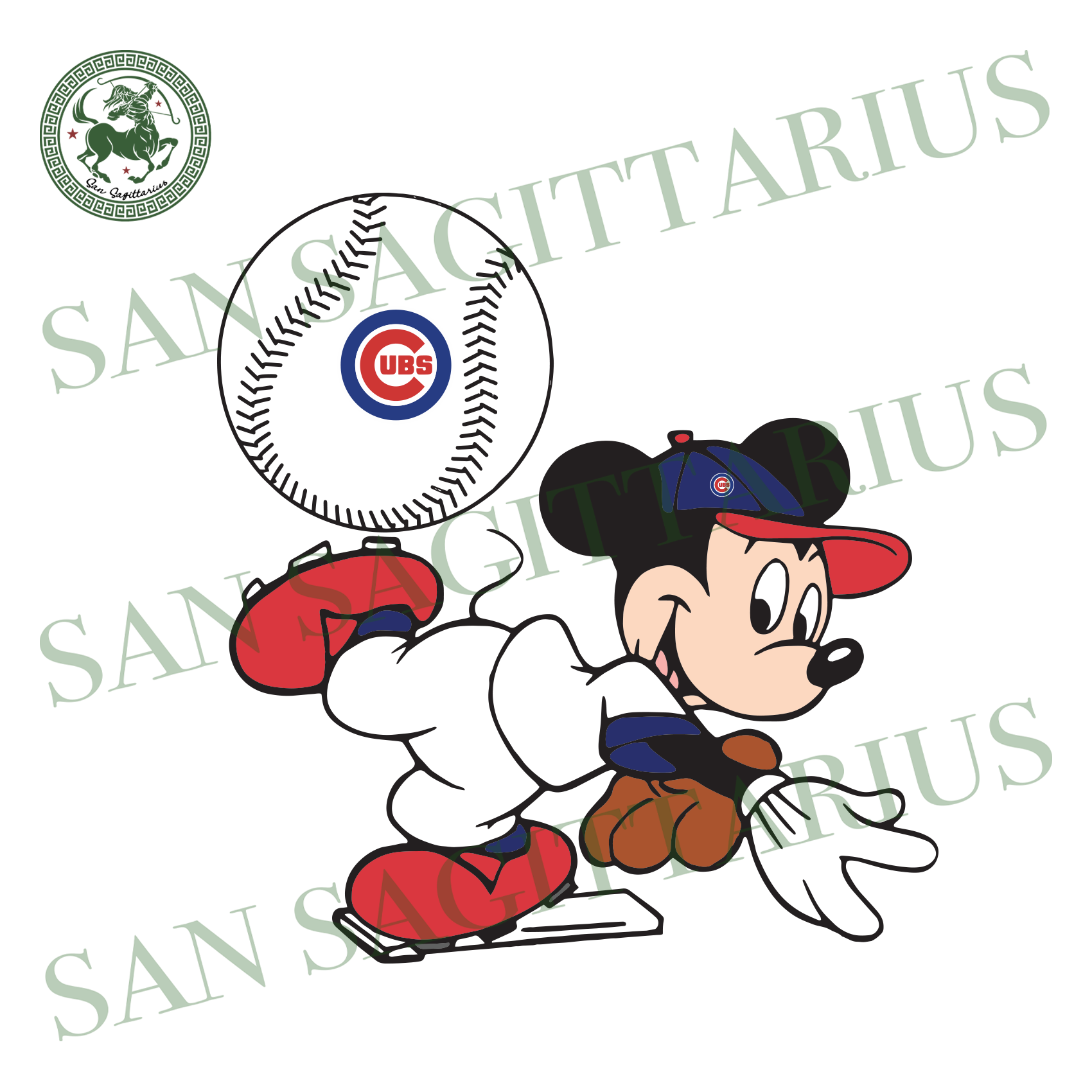 Chicago Cubs With Mickey, Sport Svg, MLB Baseball Svg, MLB Svg, MLB Sport, Chicago Cubs Svg, Chicago Cubs Lover, Baseball Svg, Baseball Lover, Mickey Svg, Mickey Sport, Mickey Love, Mickey, M