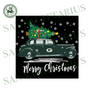 Christmas With Green Bay Packers, Sport Svg, Christmas Svg, Green Bay Packers Svg, NFL Sport Svg, Green Bay Packers NFL Svg, Green Bay Packers Shirt, Green Bay Packers Gift, Football Svg, Foo
