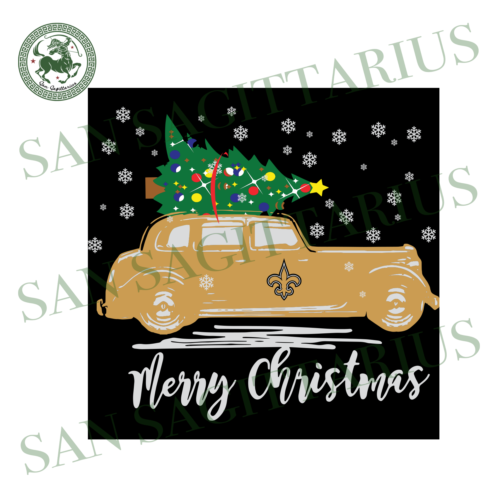 Christmas With New Orleans Saints, Sport Svg, Christmas Svg, New Orleans Saints Svg, NFL Sport Svg, New Orleans Saints NFL Svg, New Orleans Saints Shirt, New Orleans Saints Gift, Football Svg