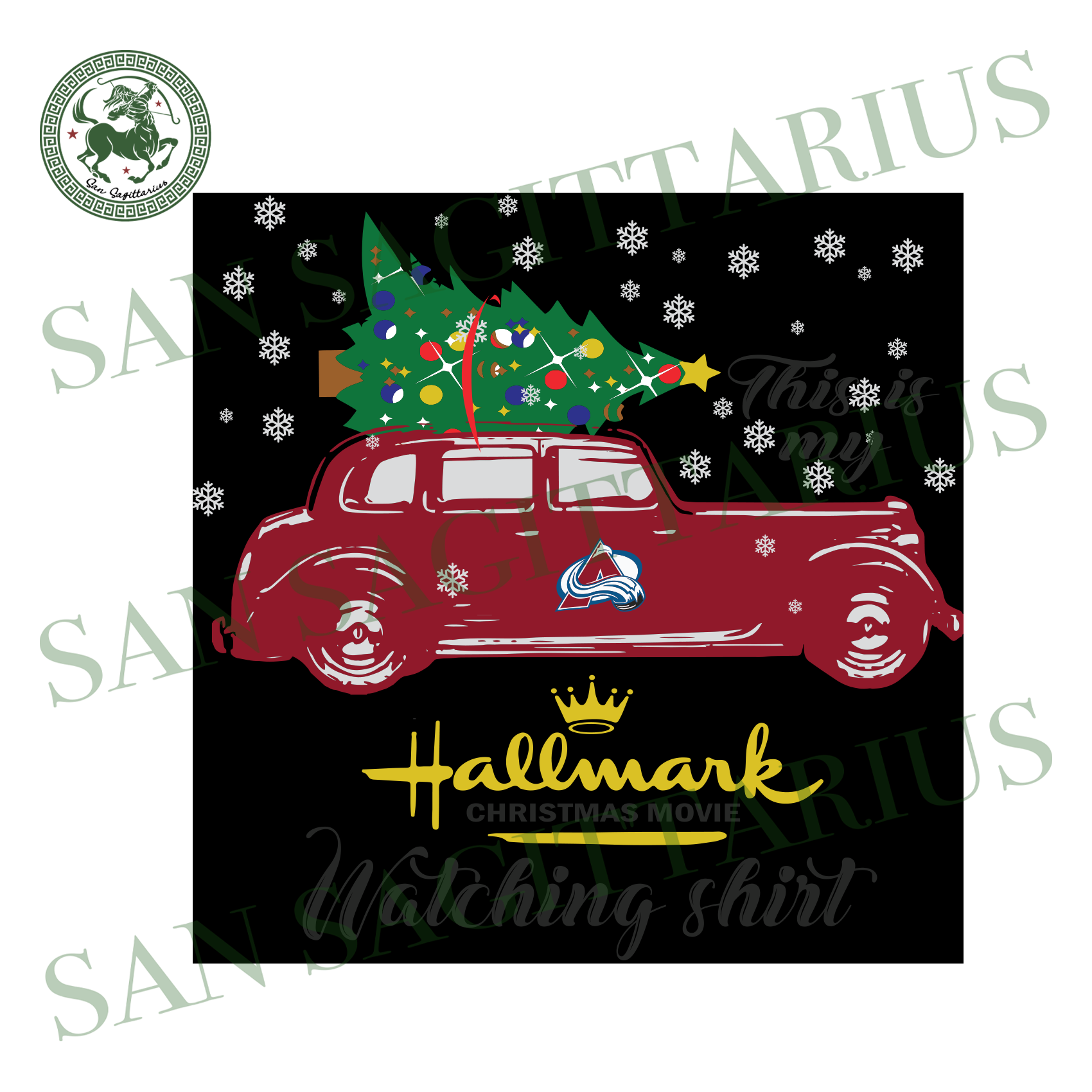 Colorado Avalanche This Is My Hallmark Christmas Movie Watching Shirt, Sport Svg, Christmas Svg, Colorado Avalanche Svg, NHL Sport Svg, Colorado Avalanche NHL Svg, Colorado Avalanche NHL Gift