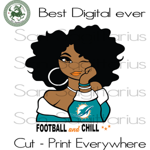 Miami dolphins SVG Files For Silhouette, Cricut Files, SVG DXF EPS PNG Instant Download