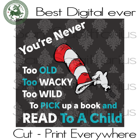 Dr Seuss Funny Quotes Cut Files, Dr Seuss Birthday, Dr Seuss Saying Svg, Teacher School SVG Files For Silhouette Cricut Files Instant Download | San Sagittarius