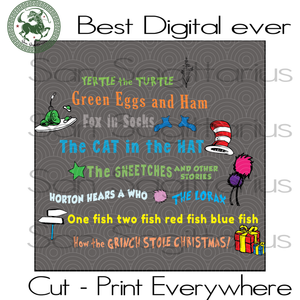 Dr Seuss Quotes Cut Files, Dr Seuss Birthday, Dr Seuss Saying Svg, Teacher School SVG Files For Silhouette Cricut Files Instant Download | San Sagittarius