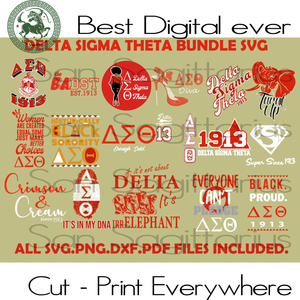 Delta Sigma Theta Bundle Svg, Delta Sigma Theta 1913, Sorority, Sorority Gifts, Sorority Sticker, Sorority Shirt, Women Gift, University Gift, Gift For Girl, Alumni Gifts svg, Alumnus Gifts s