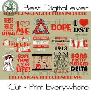 Delta Sigma Theta Svg, Delta Sigma Theta, Sigma Theta Gifts, Sigma Theta Svg, Theta Sigma Shirt,Sigma Sorority Svg, Sigma Sorority Gift Sublimation files, Svg Files For Cricut, HTV, Silhouett
