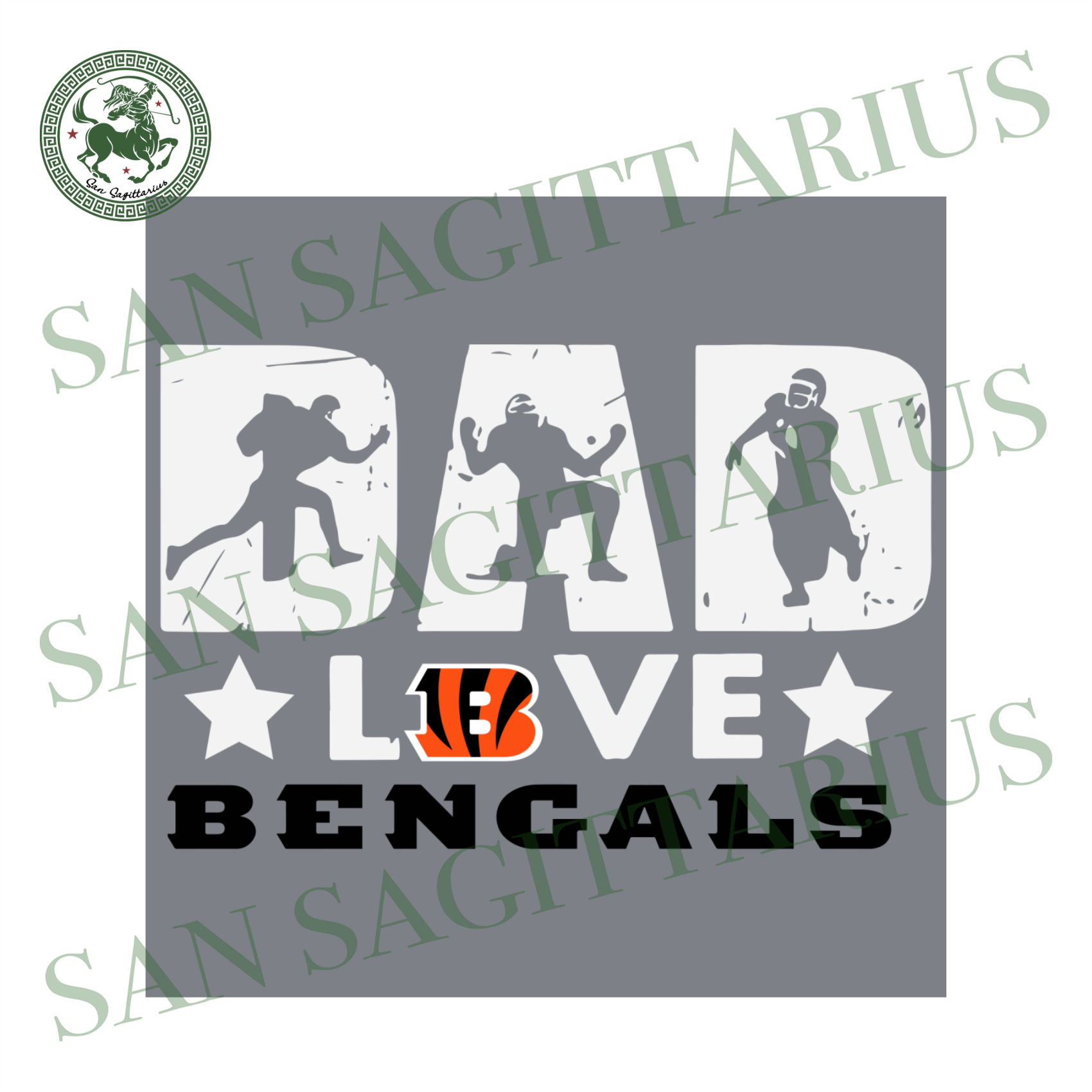 Dad Love Bengals, Sport Svg, Father's Day, Cincinnati Bengals Svg, Happy Father's Day, Cincinnati Bengals Football, Dad Shirts, Dad Lover, Cincinnati Bengals Shirt, Cincinnati Bengals Footbal
